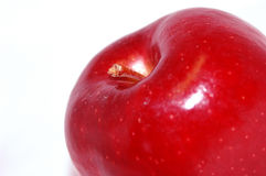 Apple on white Stock Photo