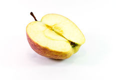 Apple on white background Stock Photography
