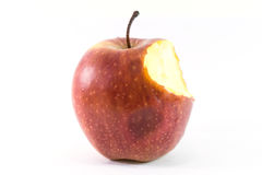 Apple on white background Royalty Free Stock Photo