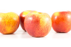 Apple. On the white background Stock Images