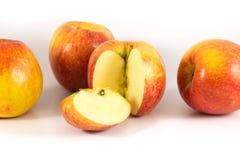 Apple. On the white background Stock Photos