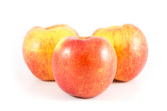 Apple. On the white background Royalty Free Stock Image