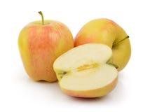 Apple on white background Royalty Free Stock Photos