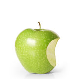 Apple on white background Royalty Free Stock Photography