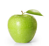 Apple on white background Royalty Free Stock Image