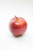 Apple on white background. Apple on white a background Royalty Free Stock Image
