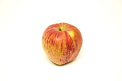 An apple on white background royalty free stock image