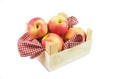 Apple on white Stock Photos