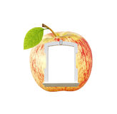 Apple window. Royalty Free Stock Images