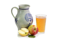 Apple wine Stock Photo