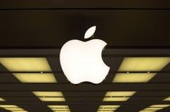 Apple-winkel in Sidney stock fotografie