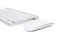 Apple wireless computer mouse Royalty Free Stock Image