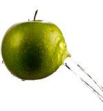 Apple wody pluśnięcie Obraz Royalty Free