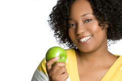 Apple Woman Royalty Free Stock Image