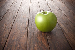 Apple Wood Background Stock Photography