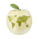 Apple world Stock Image