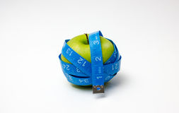 Apple wrapped arround Stock Photos