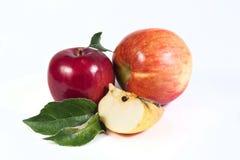 apple wycinek zawiera cyfrowej sieci ilustracyjnego gradientowego ścieżki white Obrazy Stock