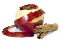 Apple y cinamomo imagen de archivo libre de regalías