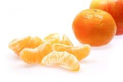 Apple y mandarines Fotos de archivo libres de regalías