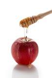 Apple y miel Fotos de archivo