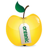 Apple of yellow Royalty Free Stock Photo
