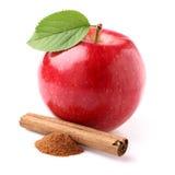 Apple z canelle zdjęcie royalty free