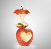 Apple z kierowym kształtem ilustracji