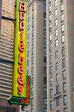 Applebee en Times Square imagenes de archivo
