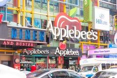 Applebee ` s restauraci kwadrat czasami zdjęcia stock