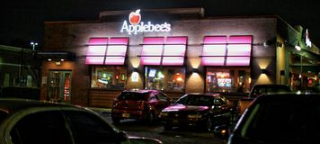 Applebee`s Restaurant stock images