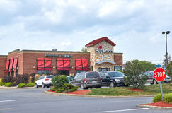 Applebee's restaurant and parking. Royalty Free Stock Photography