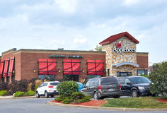 Applebee's restaurant and parking. Royalty Free Stock Photos