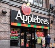 Applebees restauracji pierzeja obraz stock
