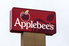 Applebees Restaurant Sign Royalty Free Stock Photos