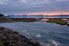 Applecross-Sonnenuntergang Lizenzfreies Stockfoto