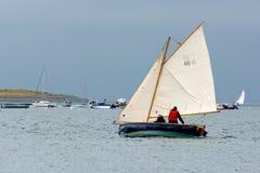 APPLEDORE, DEVON/UK - 14. AUGUST: Segeln in das Torridge und in den Ta Stockfoto