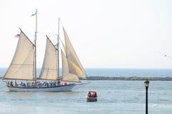 appledore IV σκάφος ψηλό Στοκ εικόνα με δικαίωμα ελεύθερης χρήσης