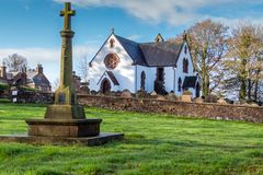 Applegarth Church Lockerbie Dumfriesshire Stock Images