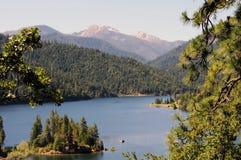Applegate湖,俄勒冈 免版税库存照片