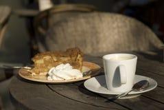 applepie καφές Στοκ εικόνες με δικαίωμα ελεύθερης χρήσης