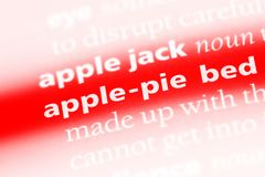 Applepie Στοκ εικόνα με δικαίωμα ελεύθερης χρήσης