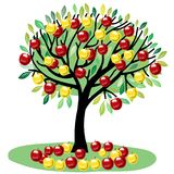 appler drzewo ilustracji