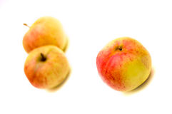 Apples. Juicy apples isolated on white background Royalty Free Stock Photography