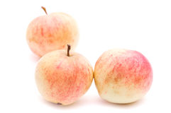 Apples. Juicy apples isolated on white background stock photos