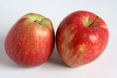 Apples. Red apple, yellow apple Royalty Free Stock Photo