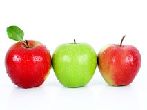 Apples. On white Royalty Free Stock Images