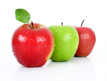 Apples. Isolated Stock Photography