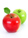 Apples. Two Apples - isolated Royalty Free Stock Images