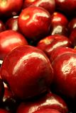 Apples. Red apples in grocery store Royalty Free Stock Images